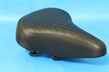 Bicycle Saddle Seat  Womens Mens Soft Sprung Quilted Vintage Style Bike Retro