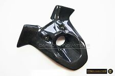 Ducati Carbon Fiber 848 1098 1198 Key Ignition Lock Cover Guard Insert Panel