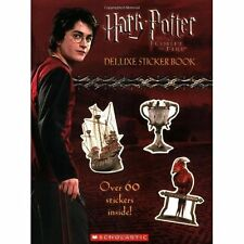 HARRY POTTER & the GOBLET OF FIRE ~ DELUXE STICKER BOOK ~ OVER 60 iNCL ~ HTF OOP