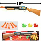 SOFT DART RIFLE SHOTGUN TOY TARGET SHOOTING GAME SET CARBINE VERY COOL!