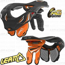 Leatt 2014 GPX 5.5 Junior Black Orange Kids Neck Brace Neck Protection Motocross