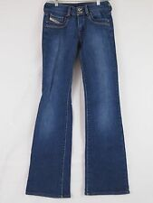Diesel Jeans Womens Blue Ronhar Made in Italy Boot Size 26 6