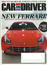 very nice Car and Driver June 2011 issue from personal collection (6-11)