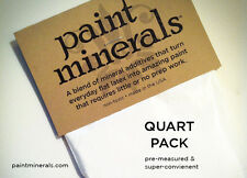 Make chalk-style paint in any color easily with Paint Minerals Quart Pack