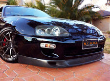 Toyota Supra CARBON FIBRE Front Bumper Lip WW Style for Racing, Body Kit v4