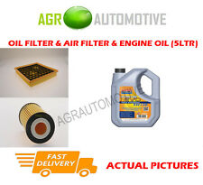 PETROL OIL AIR FILTER + LL 5W30 OIL FOR VAUXHALL INSIGNIA 1.8 140 BHP 2008-13