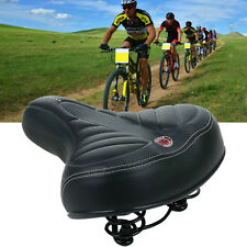 Extra Wide Comfort Cushioned Bike Seat Soft Padded Bicycle Gel Universal Saddle