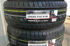 Kit 4 Pneumatici auto Bridgestone 205/55 16 91W Adrenalin RE002 gomme nuove