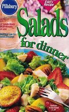 Pillsbury SALADS for Dinner Small Cookbook #209 22 Salads Ready 20 Min or Less