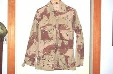 USGI Army Surplus Desert Storm Chocolate Chip Camo DCU BDU Shirt X Small Reg New