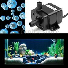 12V 3m 240L/H Ultra Quiet Bomba De Agua Sumergible Water Pump Acuario Brushless