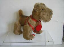 Vintage 1950's Schuco Trip Trap Trappel Walking Terrier Dog All ID MINT Germany
