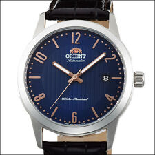 Orient Howard Automatic and Hand Winding Watch with Blue Dial #AC05007D