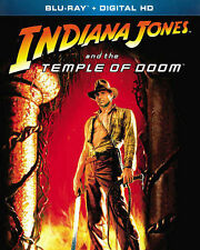 INDIANA JONES AND THE TEMPLE OF DOOM BLURAY & DIGITAL COPY HARRISON FORD