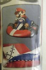 """MARIO KART WII GIANT PEEL AND STICK WALL DECAL 27"""" BY 32"""" HUGE"""