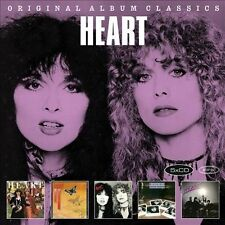 HEART 5CD NEW Little Queen/Dog & Butterfly/Bebe Le Strange/Private/Passionworks