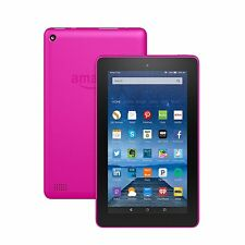 "Amazon Fire, 7"" Display, Wi-Fi, 8 GB - Includes Special Offers, Magenta"