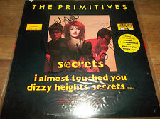 """The Primitves Secrets 12"""" Signed Red Vinyl 1989 Tracy *Unplayed*"""