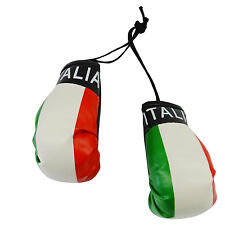ITALIA ITALY COUNTRY FLAG MINI BOXING GLOVES .. NEW