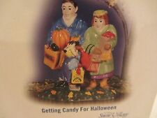 Dept 56 GETTING CANDY FOR HALLOWEEN Snow Village Accessories  #54716   (Y816DJ)
