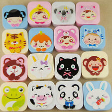 Hot Cartoon Animal Contact Lenses Box Nursing Box Mate Box prominent pattern