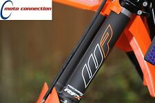 RFX FORKSHRINK UPPER FORK PROTECTORS ORANGE WP LOGO KTM SX SXF 125 150 250 350