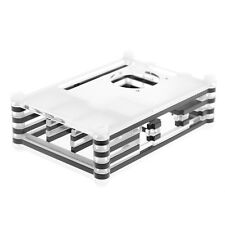 9 Layers Sliced Acrylic Shell Case Enclosure Computer Box for Raspberry Pi 3 B+