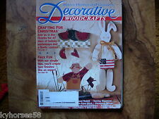 Better Homes And Gardens Decorative Woodcrafts Magazine June 1993