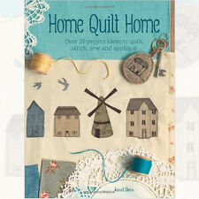 Home Quilt Home: Over 20 project ideas to quilt Book By Janet Clare NEWPaperback