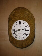 Antique-French-Morbier Clock Movement-Ca.1870-To Restore-#N382