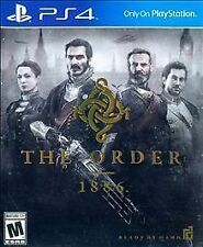 THE ORDER 1886 PS4 ADULT OWNED EXCELLENT CONDITION SONY 2015 LOOK! FREE SHIPPING