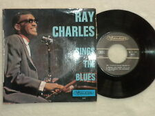 "45T 7"" RAY CHARLES ""Sings the blues"" VISADISC VI 245 FRANCE µ"