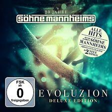 20 JAHRE SÖHNE MANNHEIMS - EVOLUZION (DELUXE EDITION) - BEST OF 2 CD + DVD NEU