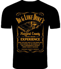 The Dukes of Hazzard Inspired Bo and Luke Driving Orange Limited Edition T-Shirt