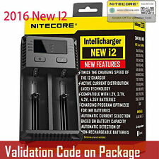 Nitecore New I2 2016 Intellicharger Battery Charger 18650 RCR123 16340 14500