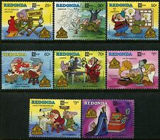 Redonda MNH Disney characters Snow White And The Seven Dwarfs Animation x10093