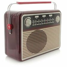Metallbox RADIO im Retro-Design