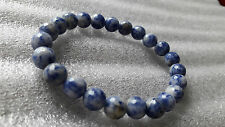 Sodalite Faceted ( Cutting ) 8 MM Bracelet For Idealism* Truth* Increase memory
