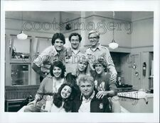 1982 Primary Cast Star of The Family 1980s TV Show Press Photo