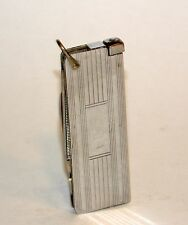 nice 1950's art deco austrian emil polk combination striker lighter pocket knife