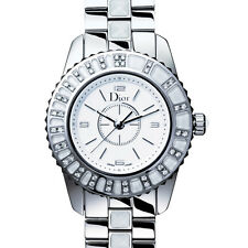 AUTHENTIQUE MONTRE DE LUXE CHRISTIAN DIOR CHRISTAL CD112113M001