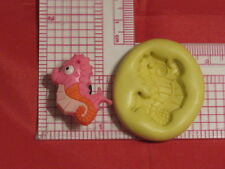 Sea Horse 2D Silicone Mold Food Safe cupcake Decoration 96 Chocolate Resin Candy