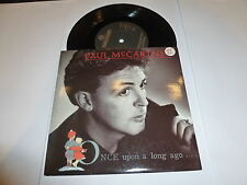 "PAUL McCARTNEY - Once Upon A Long Ago - 1987 UK solid centre 7"" vinyl single"