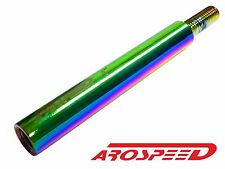 "AROSPEED NEO CHROME CNC BILLET 4"" SHIFTER EXTENSION FOR HONDA ACURA M10X1.5"