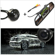 "360° CCD HD Wide-angle Backup Parking Camera + 4.3"" TFT Rearview Mirror Screen"