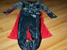Boys Size Small 6 The Avengers Thor Halloween Costume Jumpsuit Cape Muscle Chest