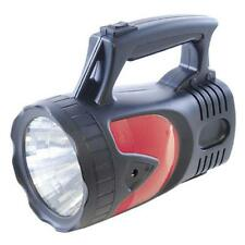 Lloytron D2202 1w Super Bright LED Torch With Red Hazard LED's 12v Car Charger