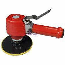 "HEAVY DUTY 6"" 150MM AIR ORBITAL SANDER POLISHER DUAL ACTION AIR SANDER NEW"