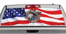 Truck Rear Window Decal Graphic [Freedom Is Not Free] 20x65in DC25904