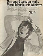 Publicité 1970  CARAVELAIR vacances caravanes camping ...